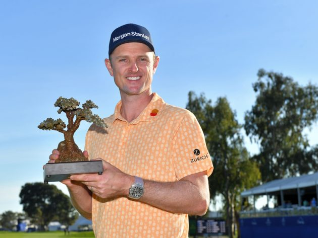 Defending champion Justin Rose