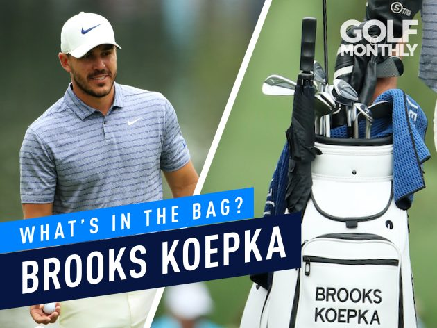 0fd6673f5a7 Brooks Koepka What s In The Bag  - 3-Time Major Winner