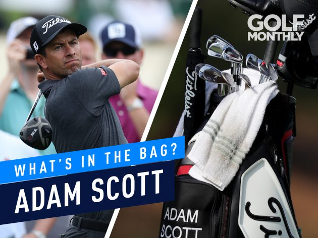 Adam Scott Whats In The Bag Golf Monthly Gear