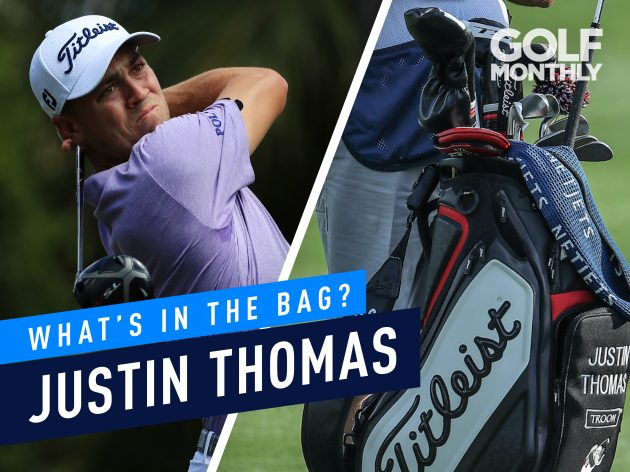 Justin Thomas What's In The Bag? - One-Time Major Winner