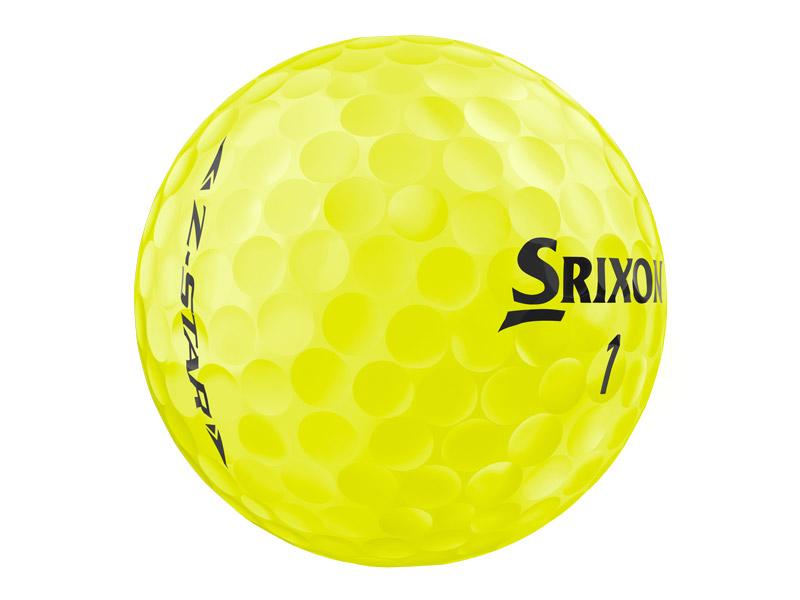 2019 srixon z-star yellow ball