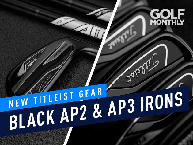 Titleist Releases Black Finish To 718 AP2 and AP3 Irons