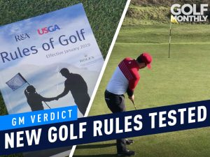 New Golf Rules Tested