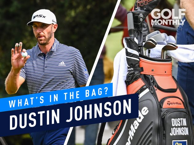 Dustin Johnson What s In The Bag  - WGC-Mexico Champion f30ae79360d8