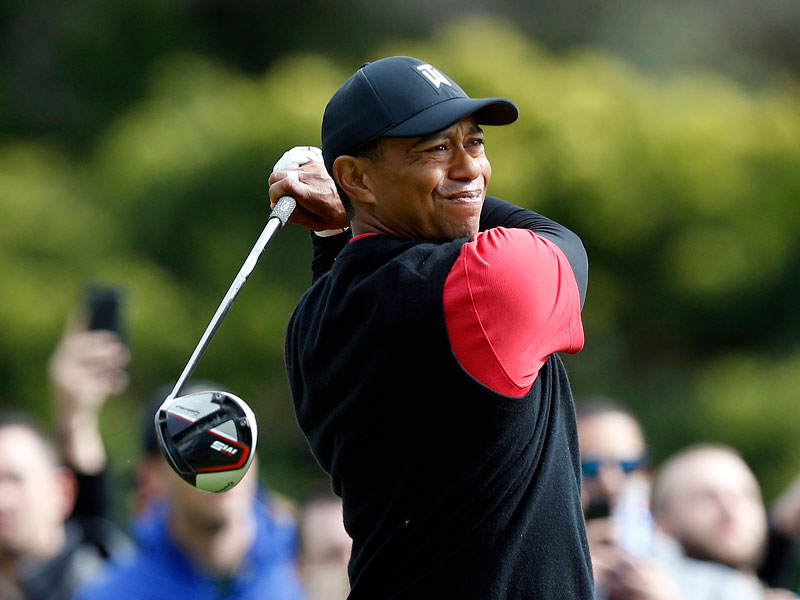 when is tiger woods next playing