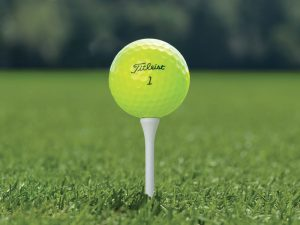 Should you play a yellow golf ball?