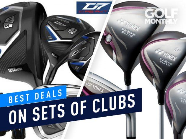 best deals on golf clubs