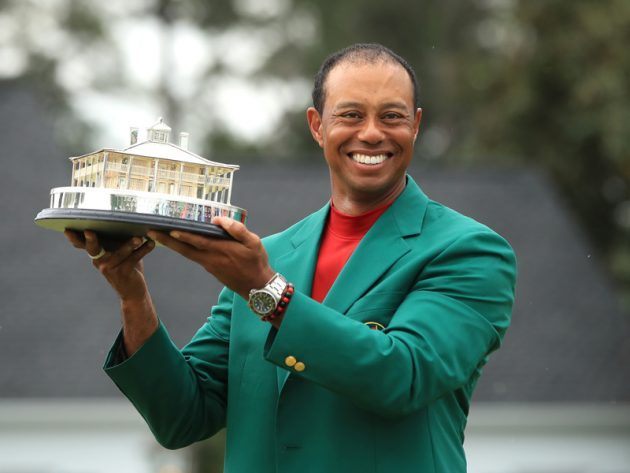 flipboard  tiger woods u2019 2019 masters win by the numbers