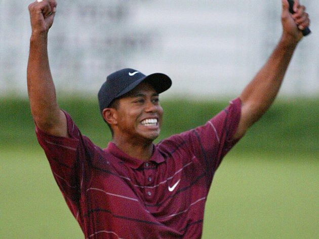 tiger woods u0026 39  2002 us open win at bethpage black