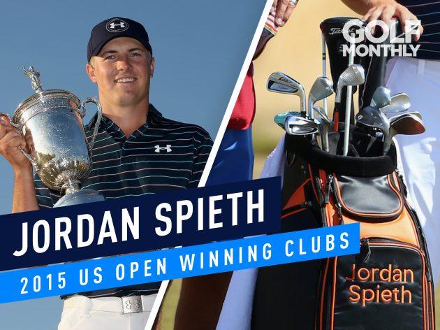 1269e017ee Jordan Spieth 2015 US Open Winning Clubs - Classic WITB