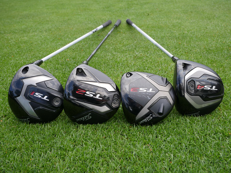Driver Test: Titleist TS1 v TS4 - Golf Monthly