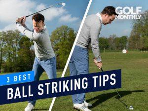 best ball striking tips