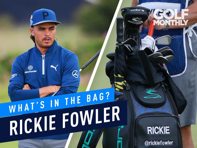 Rickie Fowler What's In The Bag? - Cobra/Puma Ambassador