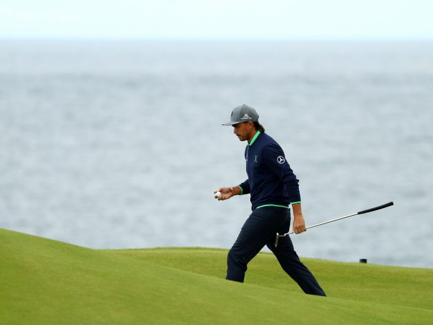 Rickie Fowler rises up The Open leaderboard