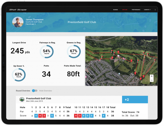 Shot Scope Course Hub Feature Launched - Golf Monthly