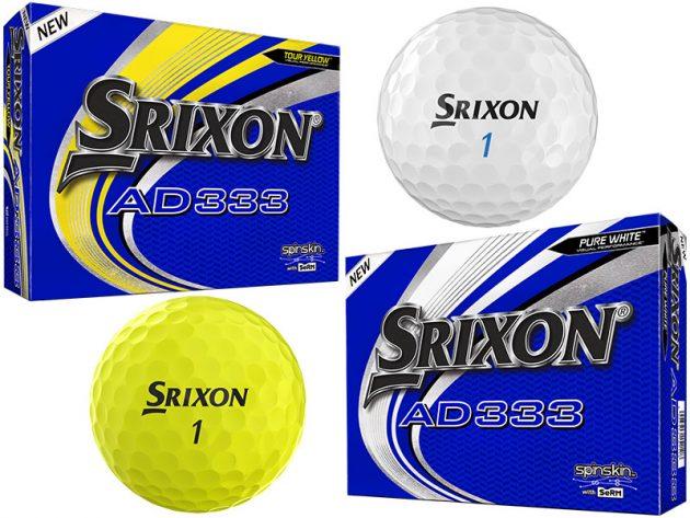 Srixon Unveils 9th Generation AD333 Balls