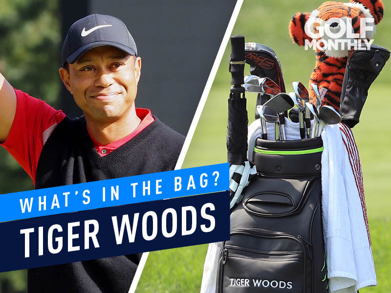 Tiger Woods What's In The Bag