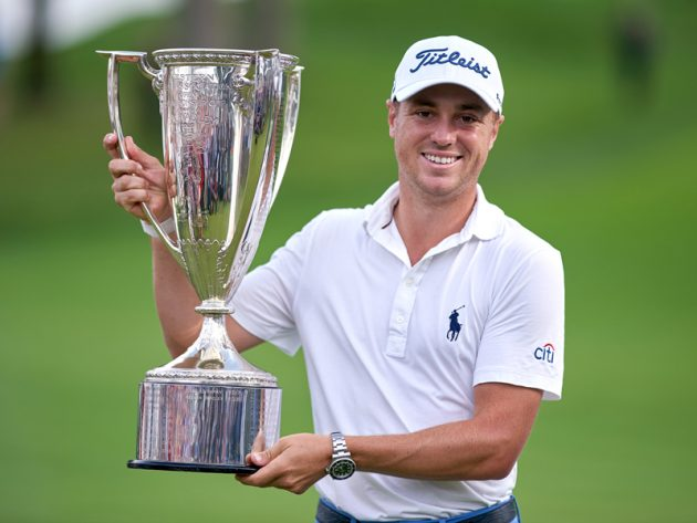 Justin Thomas Wins 10th PGA Tour Title To Lead FedEx Cup