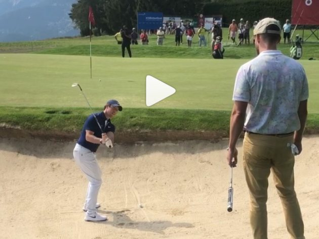 WATCH: Rory McIlroy Gives Justin Timberlake A Bunker Lesson