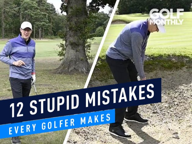 12 Stupid Mistakes Every Golfer Makes