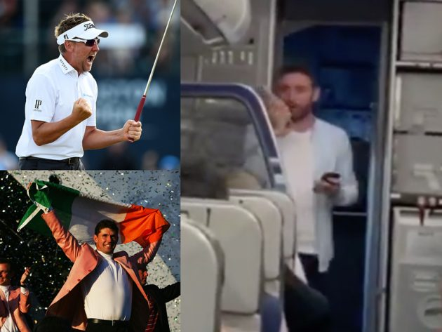 WATCH: Poulter And Harrington Make Hilarious Airline Announcements