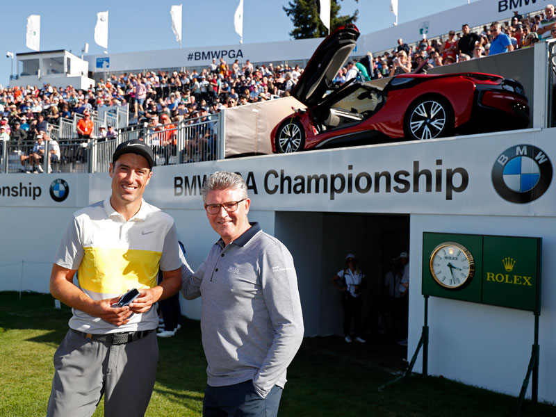 WATCH: Ross Fisher Makes Albatross To Win BMW i8