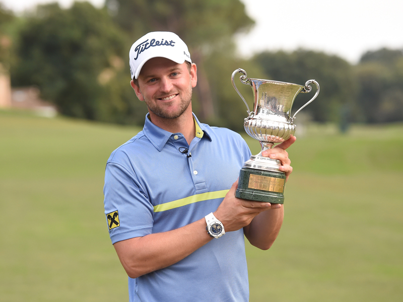 Defending champion Bernd Wiesberger
