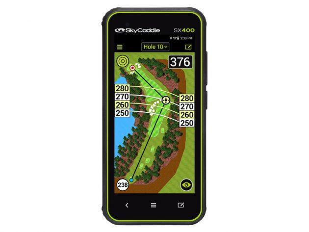 SkyCaddie SX400 GPS Revealed
