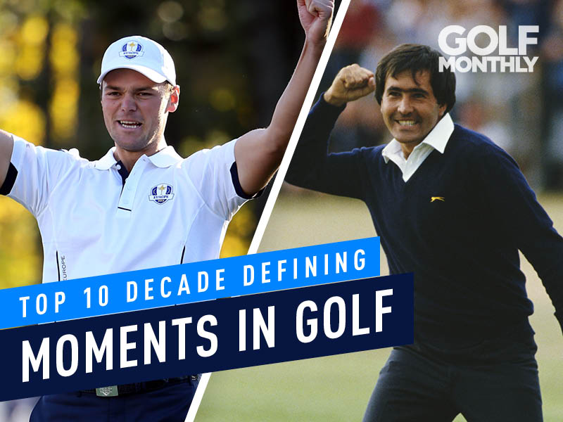 Top 10 Decade Defining Moments In Golf - Golf Monthly