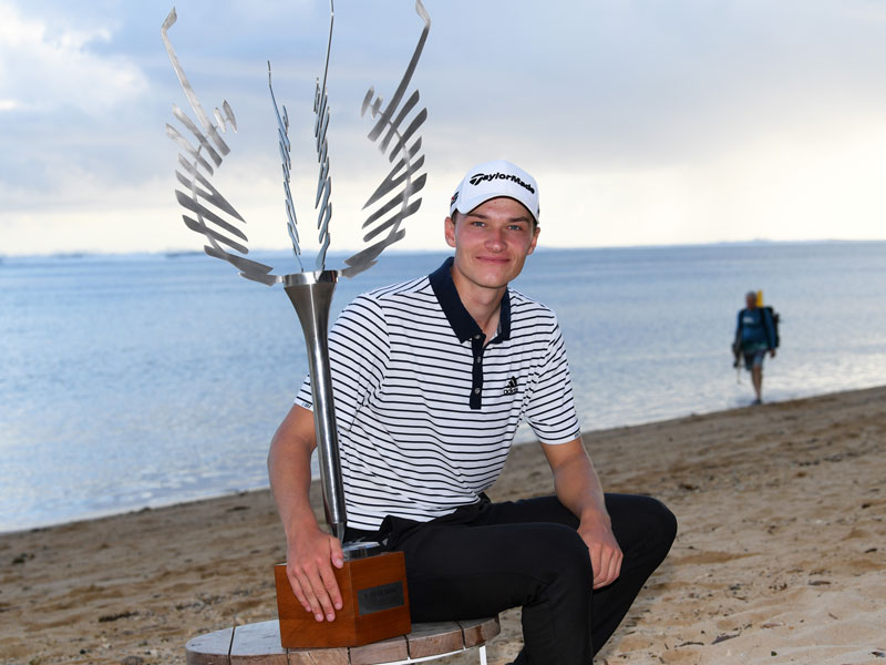 Teenager Rasmus Hojgaard Makes History In Mauritius - Golf Monthly