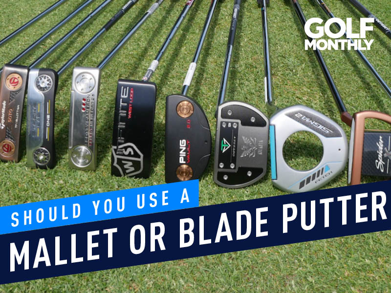 Should You Use A Mallet Or Blade Putter? - Golf Monthly