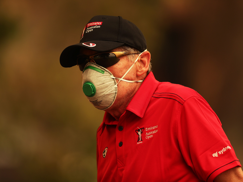 Sydney Bushfires Affect Players At Australian Open - Golf Monthly