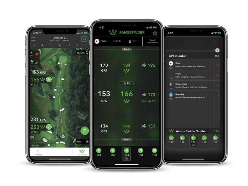 Arccos Golf Launch A.I. Powered GPS Rangefinder