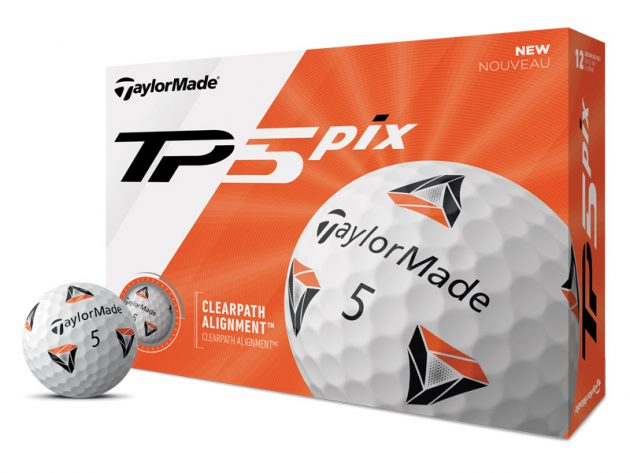 TaylorMade TP5 Pix Balls Unveiled