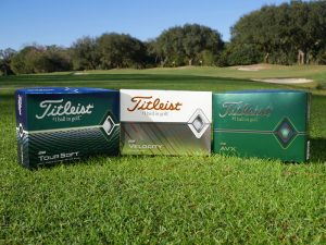 Titleist 2020 Balls Test