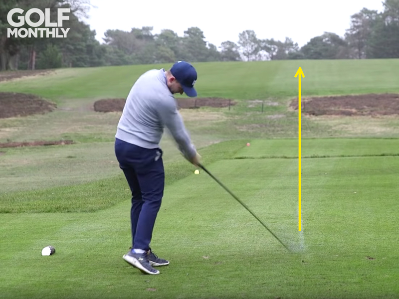 How To Hit The Ball Dead Straight - Golf Driving Tips