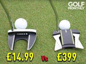 Cheap Vs Expensive Putter Test - Inesis Vs Scotty Cameron