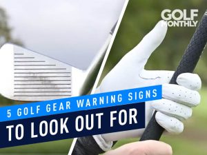 5 Golf Gear Warning signs