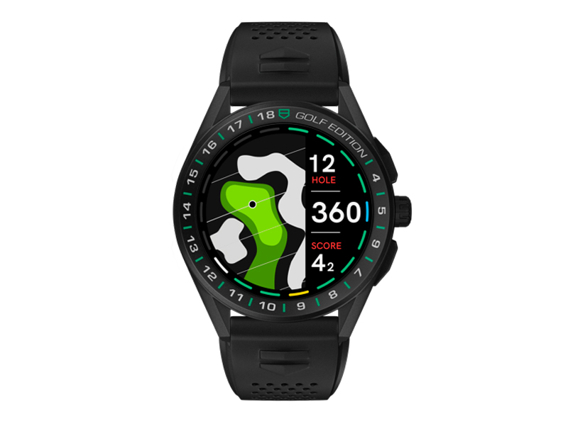 tag heuer connected golf edition watch 2020