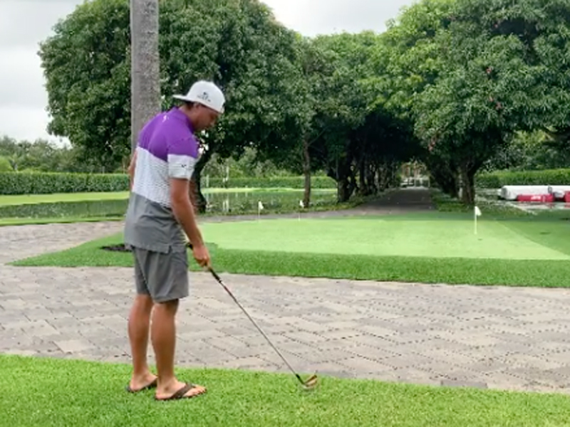 Has Rickie Fowler Got His Own Magnolia Lane Replica? - Golf Monthly