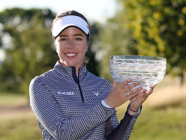 georgia hall wins second-consecutive rose ladies series title