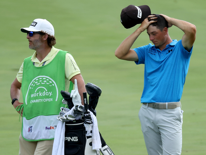 Who Is Viktor Hovland's Caddie? - Meet Shay Knight