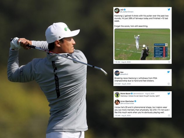 Social Media Goes Wild As Haotong Li Has Monster Practice Session