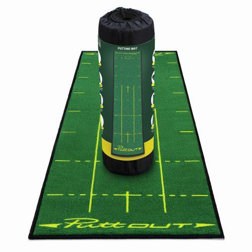 PuttOUT Deluxe Putting Mat Best Golf Simulator