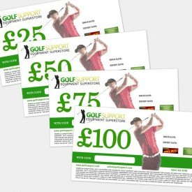 Golf Support golf gift cards