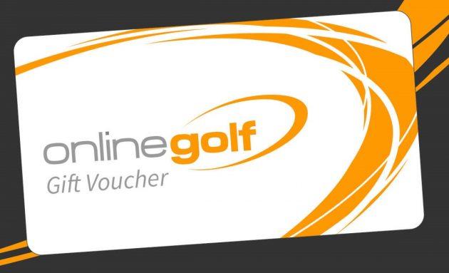 Online Golf gift cards