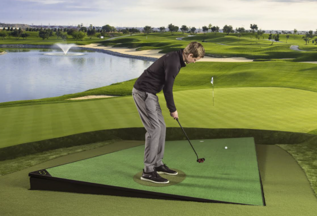 Best Golf Simulator - the zen green is used by sky sports