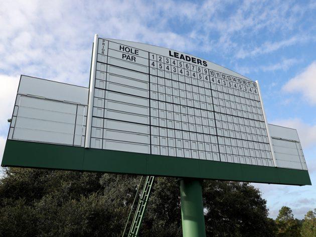 Masters Leaderboard 2020 - lastest Augusta National scores