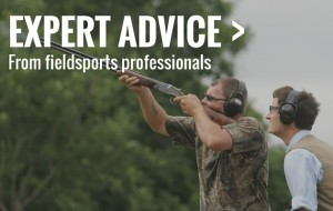 Expert shooting advice at the Field & Country Fair