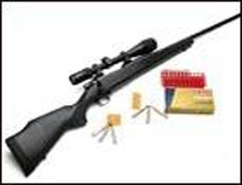 Weatherby Vanguard .257 Magnum rifle